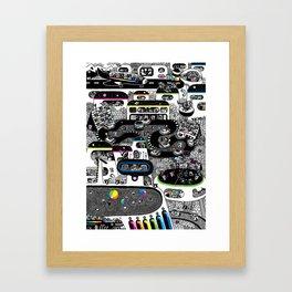 Koalarama Framed Art Print
