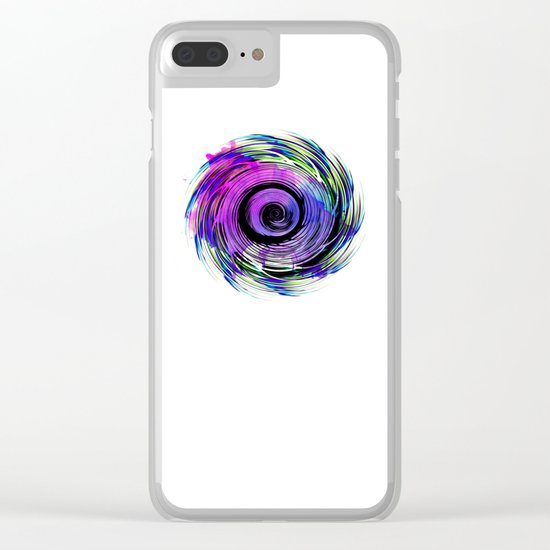 MAGADHA Mandala Clear iPhone Case