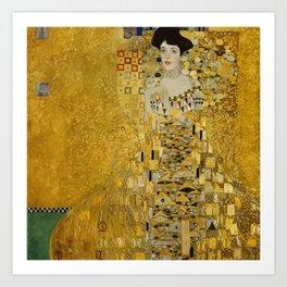 A. Bloch-Bauer - Gustav Klimt Art Print