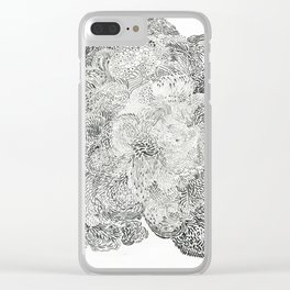 Brainflow Clear iPhone Case