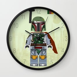 Star.Wars Boba Fett styled Mini Figure Wall Clock
