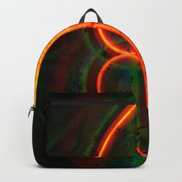 twirled up and down Backpack