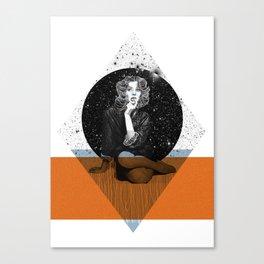 Suzy Parker Canvas Print
