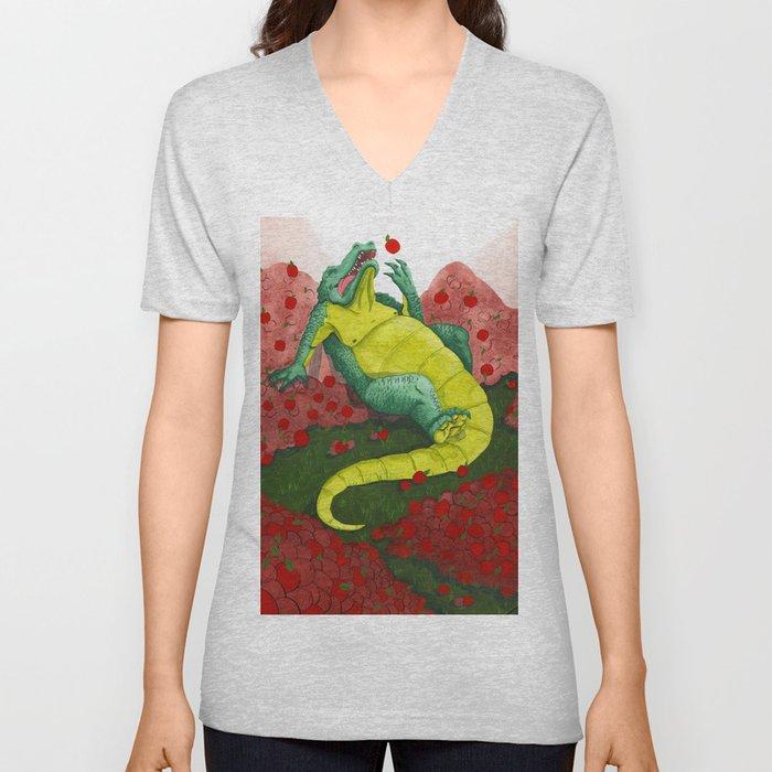 Allison's Alligator Unisex V-Neck