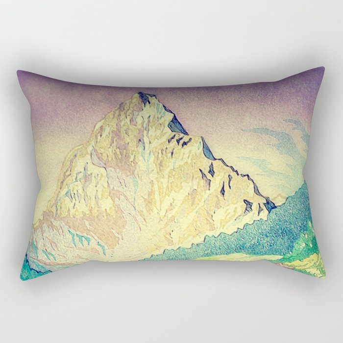 Sleeping in Colours at Minna Rectangular Pillow