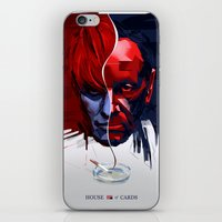 house of cards iPhone & iPod Skins featuring House of Cards fan art by ERABOY