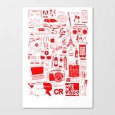 Graphics Design student poster Canvas Print