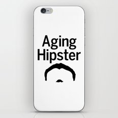 Aging Hipster iPhone Skin