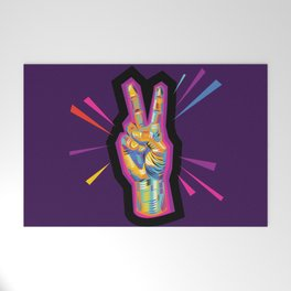 Peace in Dark Times Welcome Mat