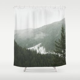 Valley of Trees Shower Curtain