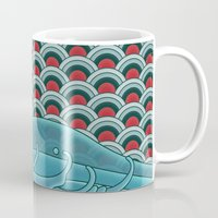 koi Mugs featuring Koi by Quick Brown Fox