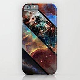 Space collage: nebula mashups iPhone Case