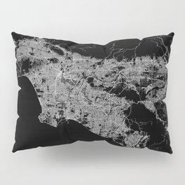 Los Angeles map  Pillow Sham