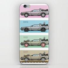 Back to the Future - Delorean x 4 iPhone Skin