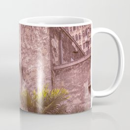 Palm Tree Summer - The Alamo Coffee Mug
