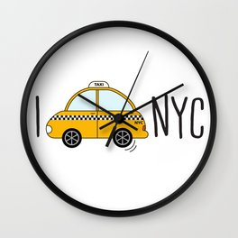 I love NYC Wall Clock