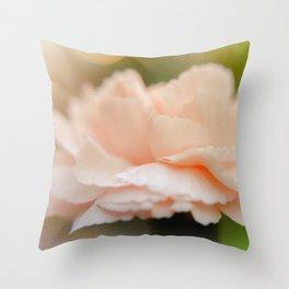 """""""Pretty in Peach"""" Throw Pillow"""
