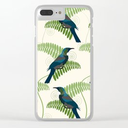 Tui Birds Clear iPhone Case