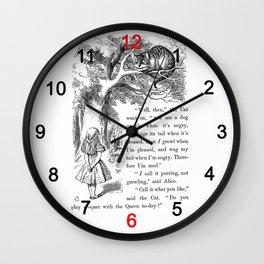 Cheshire Cat Wall Clock