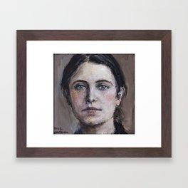 Santa Gemma Galgani II Framed Art Print