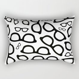 Smart Glasses Pattern Rectangular Pillow