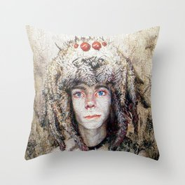 Spider Seizure Throw Pillow