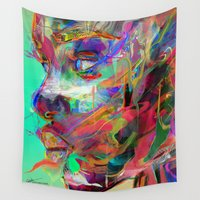 archan nair Wall Tapestries featuring Balance by Archan Nair