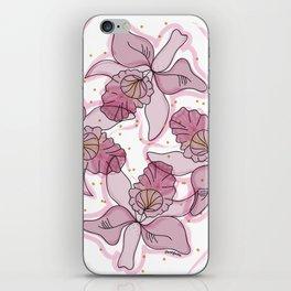 Orquideas iPhone Skin