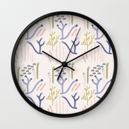 Under the Sea II Wall Clock