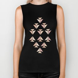 Abstract flowers IX Biker Tank