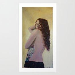 strength in vulnerability Art Print