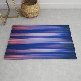 Abstract background blur motion hot pursuit violet Rug