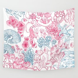 Mycology 1 Wall Tapestry