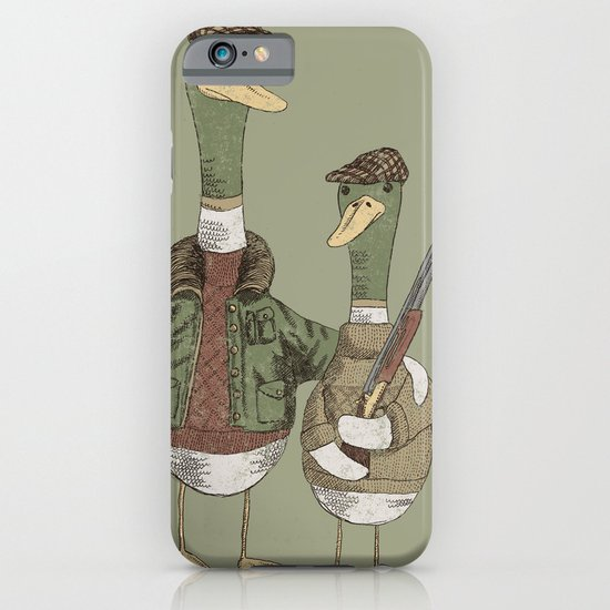 Hunting Ducks iPhone & iPod Case