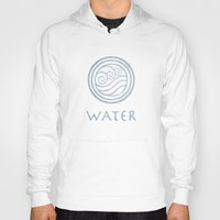 the last airbender Hoodies featuring Avatar Last Airbender - Water by bdubzgear