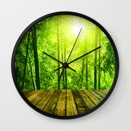 Asian Forest || Wall Clock