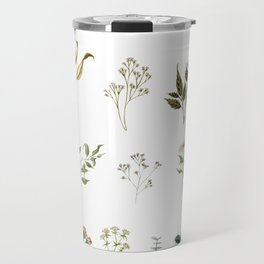 Delicate Floral Pieces Travel Mug