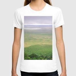 Ngorongoro Crater, African Serengeti, Tanzania, Africa color photograph / photography wall decor T-shirt