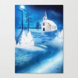 Christmas Serenade Canvas Print