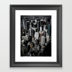 Boxes of Manhattan Framed Art Print