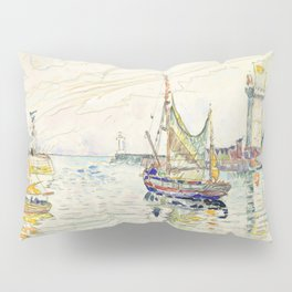 "Paul Signac ""View of Les Sables d'Olonne"" Pillow Sham"