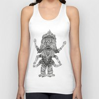 yeti Tank Tops featuring Yeti by Guice Mann