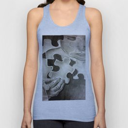 Pieces to the Puzzle Unisex Tank Top