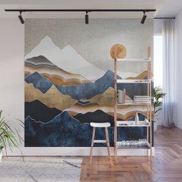 Amber Sun Wall Mural