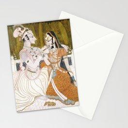 Krishna and Radha circa 1750 - Indian Art Stationery Cards