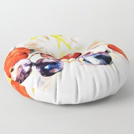 12,000pixel-500dpi - Charles Demuth - Fruit and Flower - Digital Remastered Edition Floor Pillow