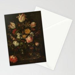 Abraham Hendricksz. van Beyeren - Still life with flowers (1650-1670) Stationery Cards