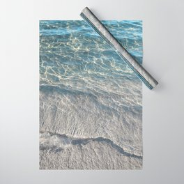Water Photography Beach Wrapping Paper