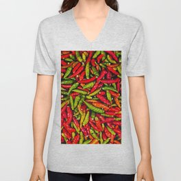Hot Chili Peppers Unisex V-Neck