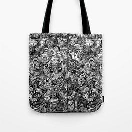 Monster PUCK Tote Bag